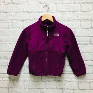 The North Face Girls Fleece Jacket Size XS 6
